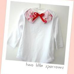 Uber Cute Collar Onsie - Baby Girl